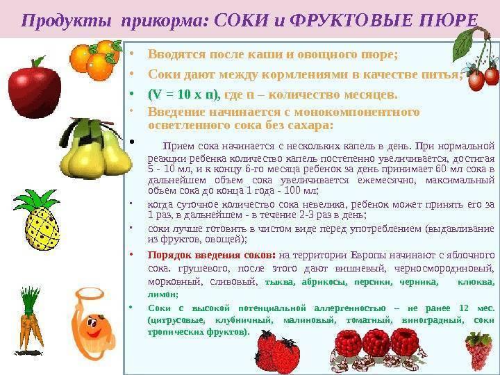 Как вводить морковь в прикорм