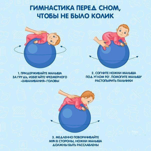 Как укачивать ребенка на фитболе — популярные способы