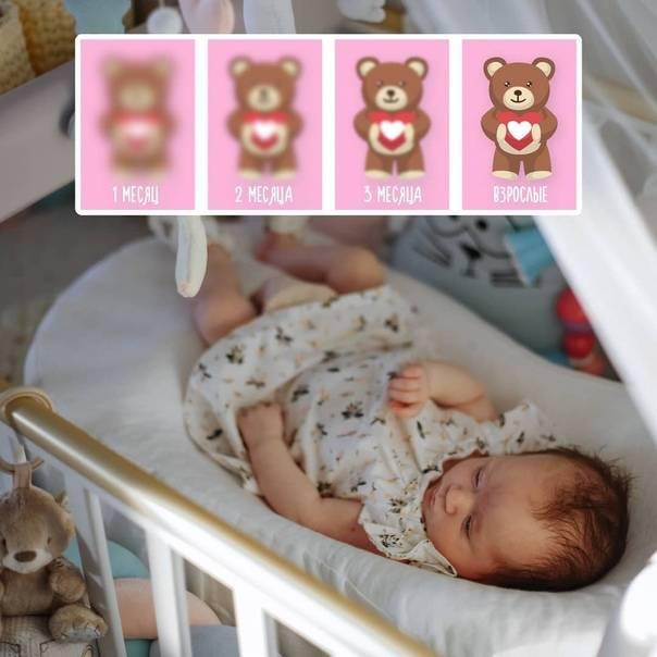 Зрение у новорожденных