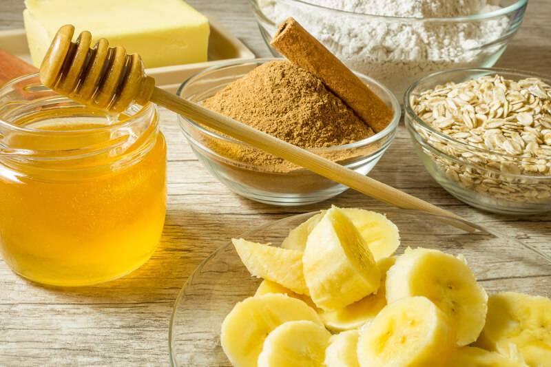 Банан с медом от кашля для детей и взрослы: рецепт и правила приема