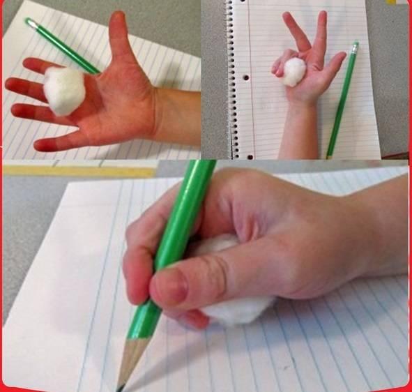 Как правильно держать ручку: 8 способов научить ребенка, подготовка руки к письму