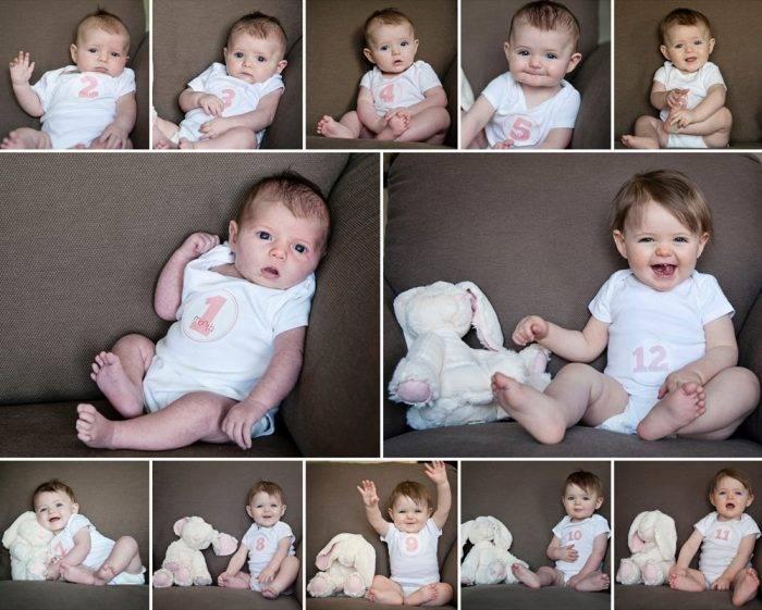 Во что играть с грудничком - (от 3 месяцев до года)