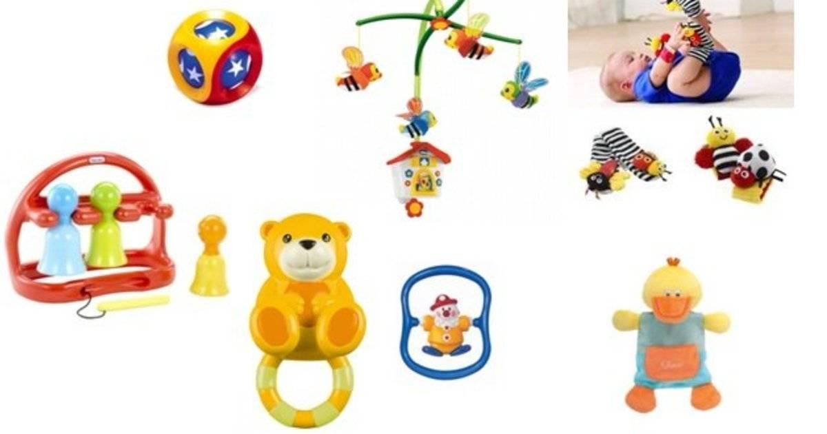 Какие игрушки нужны ребёнку в 1 месяц