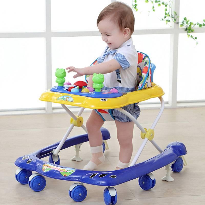 Выбор ходунков для малыша от 6 месяцев: разновидности моделей для мальчиков и девочек