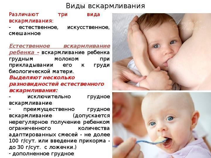 Национальная программа оптимизации вскармливания детей 1 года жизни