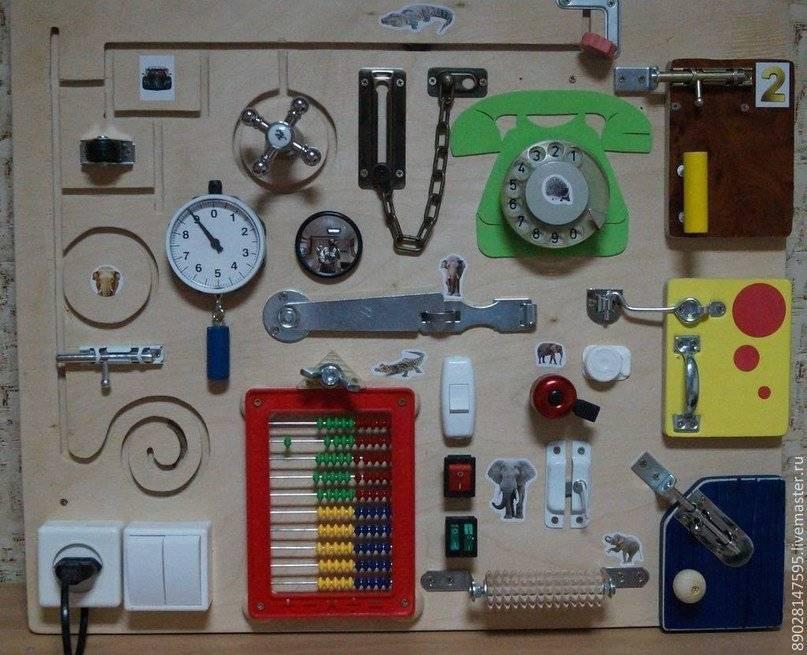 Бизиборд своими руками: пошаговый мастер-класс изготовления и 80 фото лучших идей
