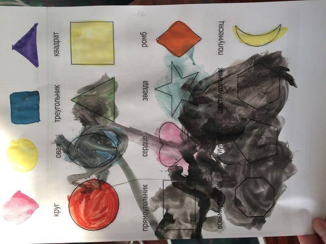 Ребенок рисует черным цветом — что это значит: мнение психолога