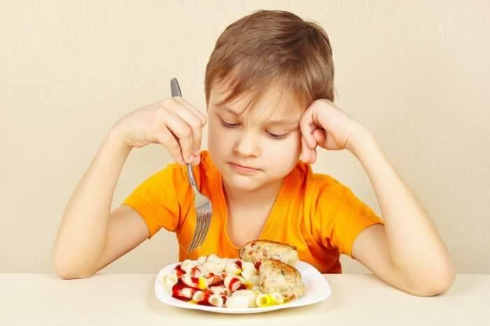 Пищеварение у детей и причины снижения аппетита