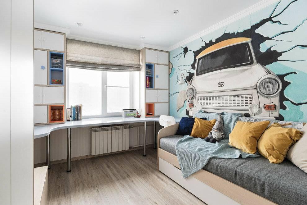 Детская комната для мальчика: дизайн интерьера, фото ремонта и идеи для разного возраста