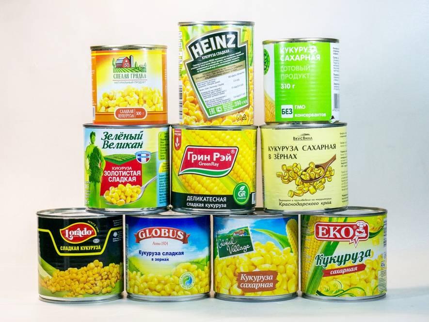 Вареная и консервированная кукуруза при сахарном диабете 1 и 2 типа