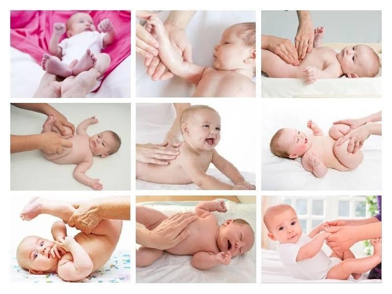 Массаж для новорожденного 3 месячного ребенка в домашних условиях