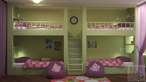 Детская комната 3 на 3 метра (9 кв м): готовые проекты и идеи дизайна (30 фото)