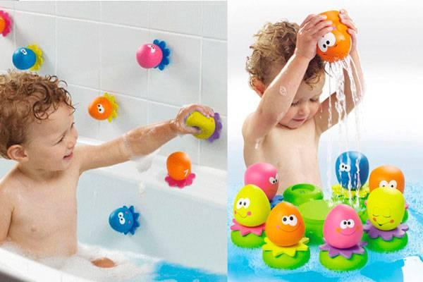 Купаемся и развиваемся, или как выбрать умные и безопасные игрушки для ванной?