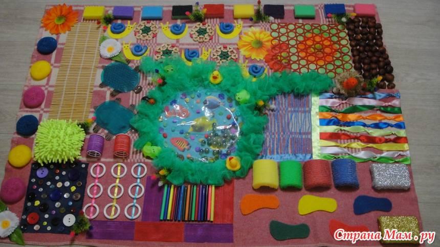 Развивающий коврик для детей своими руками (36 фото): как сделать детский коврик для малышей
