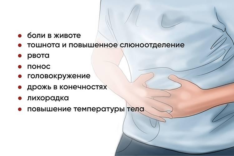 Головная боль, болит живот и тошнота