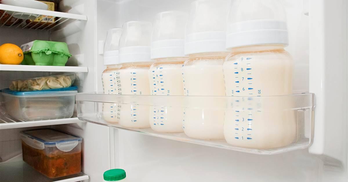 Сколько хранится сцеженное грудное молоко при комнатной температуре?