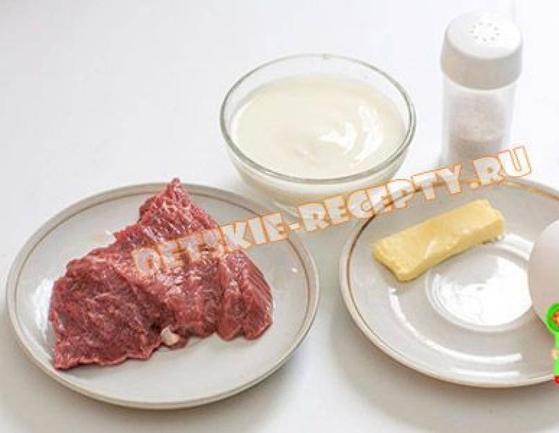 Мясное суфле в мультиварке, рецепты с фото