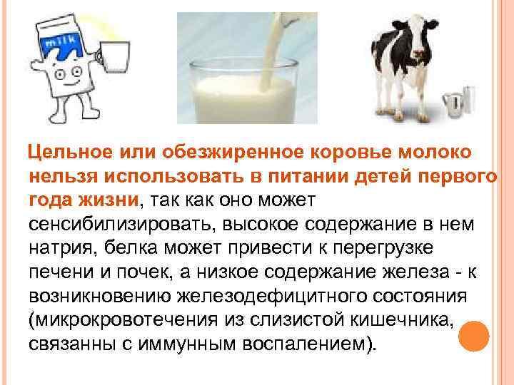 С какого возраста можно давать козье молоко для грудничка