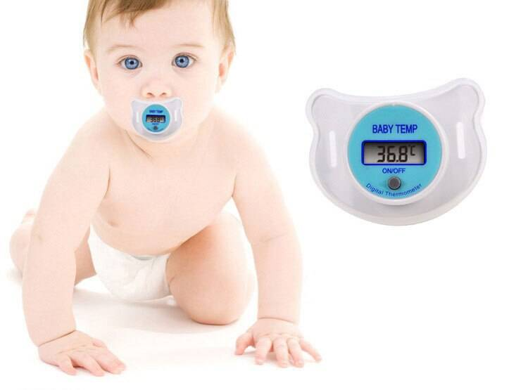Соска-термометр для деток