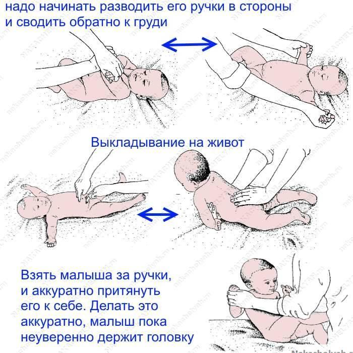 Почему грудничок не переворачивается в 5 месяцев