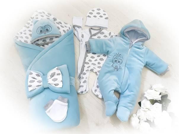 Комплекты на выписку из роддома летом для новорожденных мальчиков и девочек