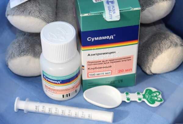 Лечение бронхита антибиотиками у детей - наиболее эффективные в суспензии
