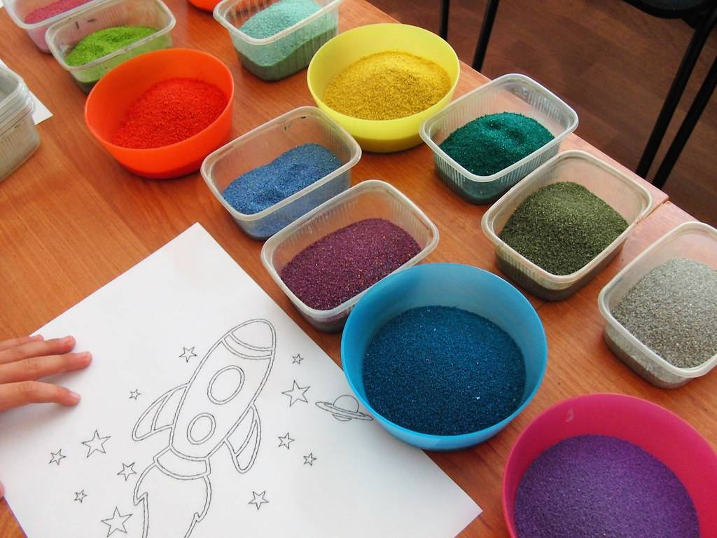 Мастер-класс для педагогов «техника песочного рисования или игры с песком»