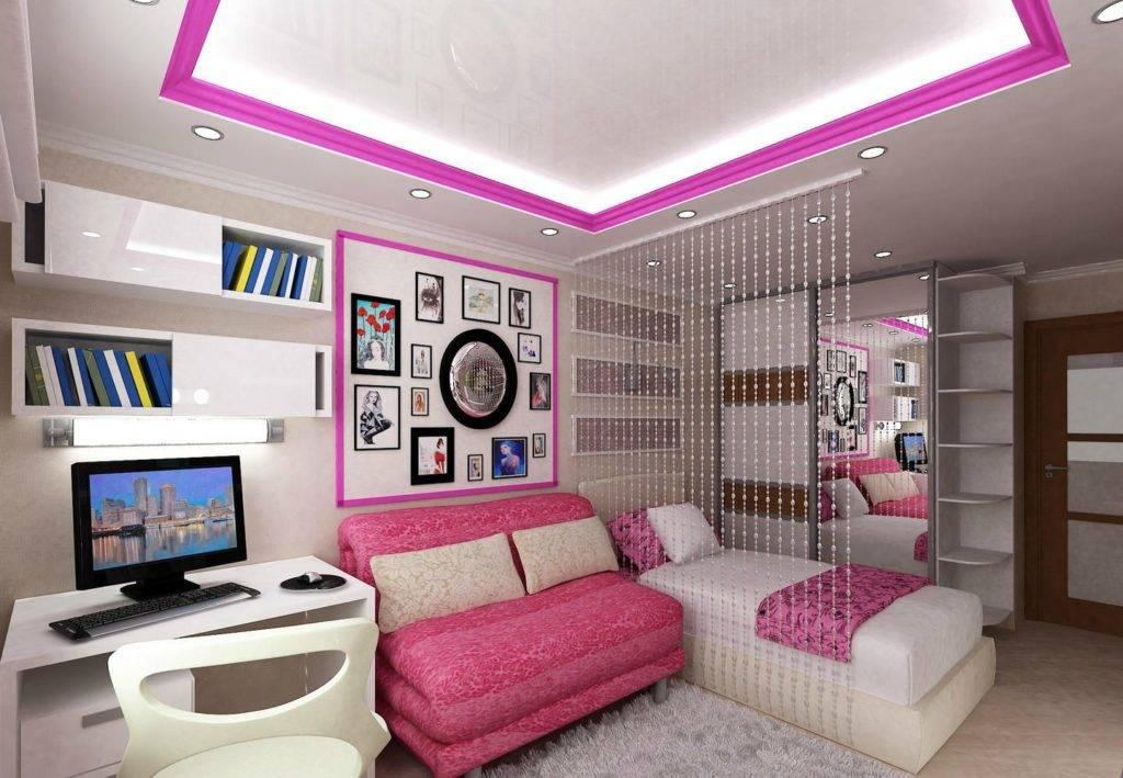 Детская комната для девочки - лучшие примеры интерьеров (52 фото)