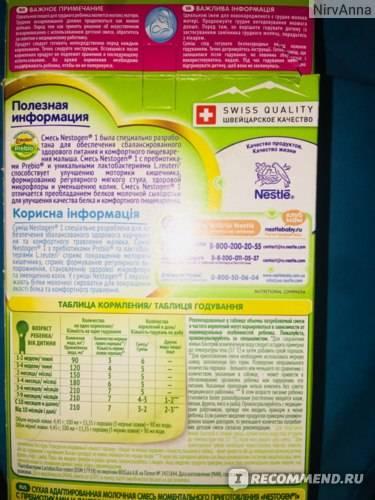 Отзыв педиатра о детской смеси nestogen 1 - топотушки