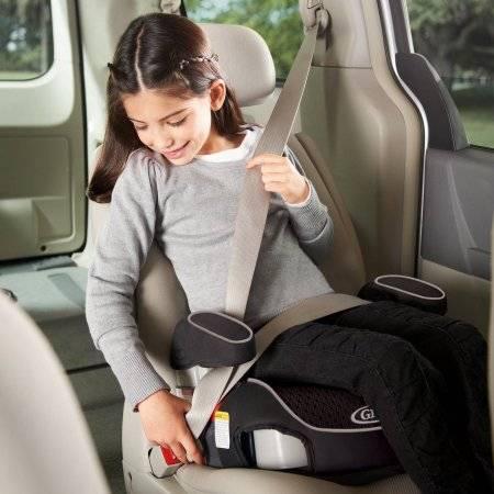 С какого возраста автомобильный бустер заменит автокресло?