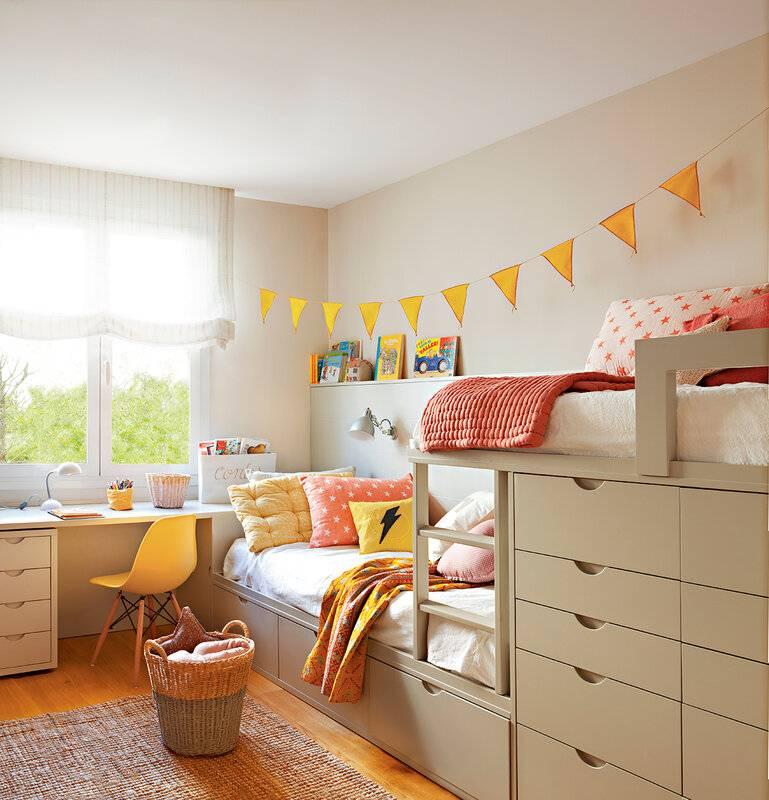 Детская 17 кв. м. — планировка и зонирование интерьера, идеи дизайна и лучшие решения при оформлении детской (115 фото)