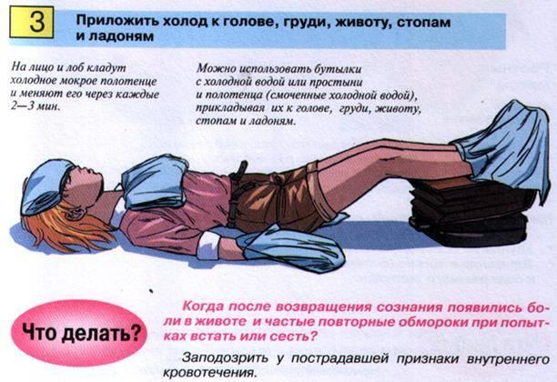"""Национальный центр массового обучения » 15. учебник """"основы первой помощи"""" » глава восьмая:   как оказать помощь  при внезапной потере сознания"""