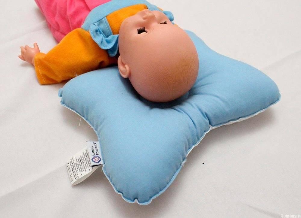 Критерии выбора и особенности использования ортопедических подушек для новорожденных