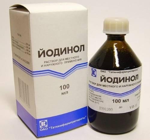 Йодинол – инструкция по применению, состав, как разводить для полосканий, противопоказания и отзывы