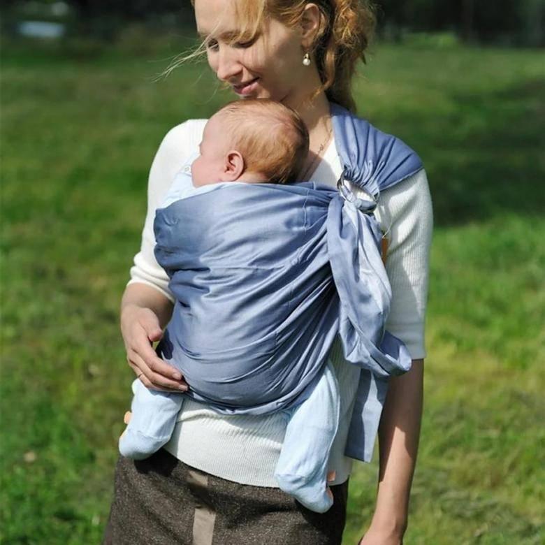 Как выбрать слинг для новорождённого малыша?