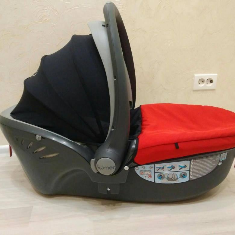 Обзор автомобильного кресла Römer Baby-Safe Sleeper