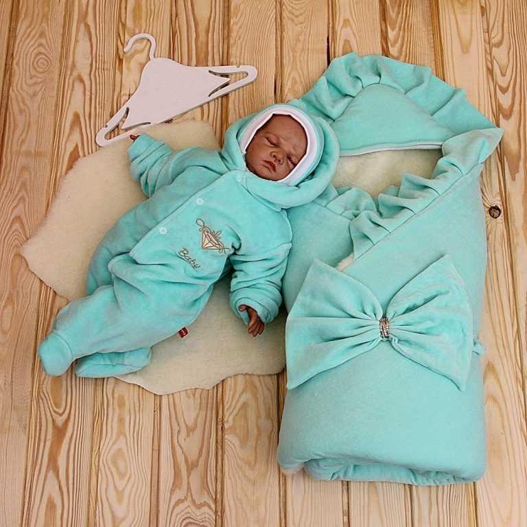 Конверт на выписку для новорожденного своими руками