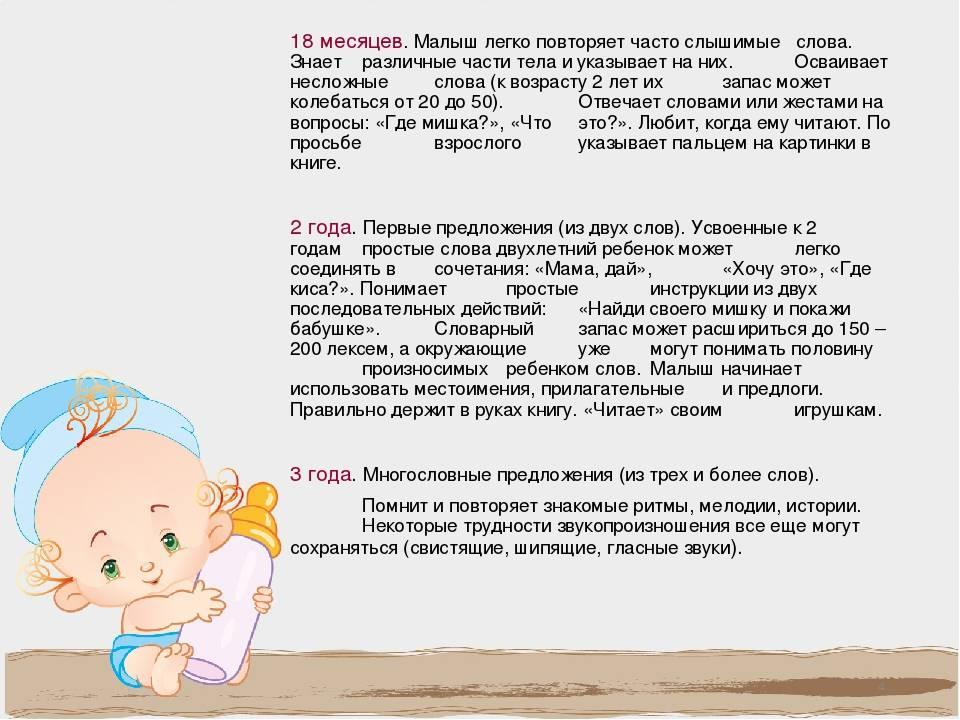 Когда ребенок начинает говорить и от чего зависят сроки?