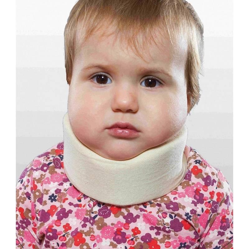 Воротник шанца для новорожденных: как и сколько носить, зачем он нужен, как подобрать размер, можно ли ребенку спать в воротнике