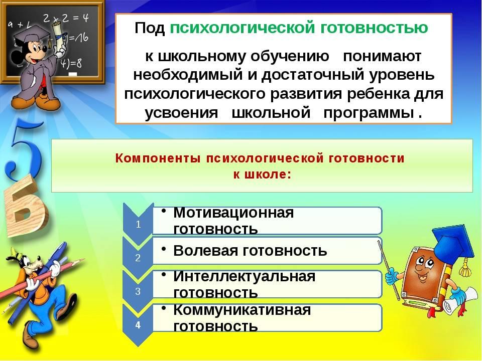 Готовность ребенка к школе: психологическая, физическая, личностная