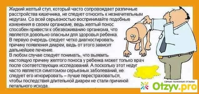 Диарея (понос) у детей