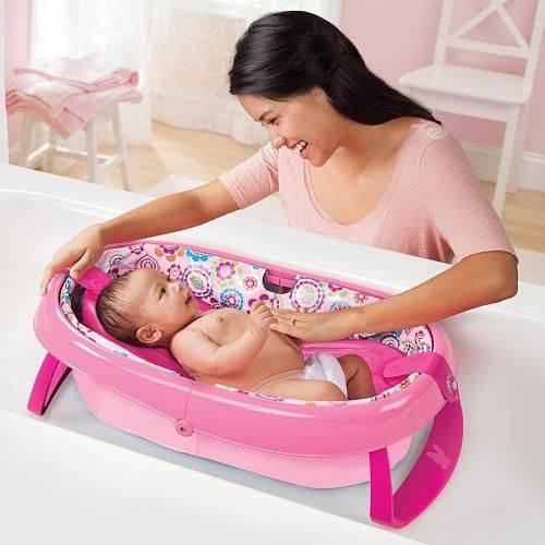 Список удобный приспособлений для купания новорожденного