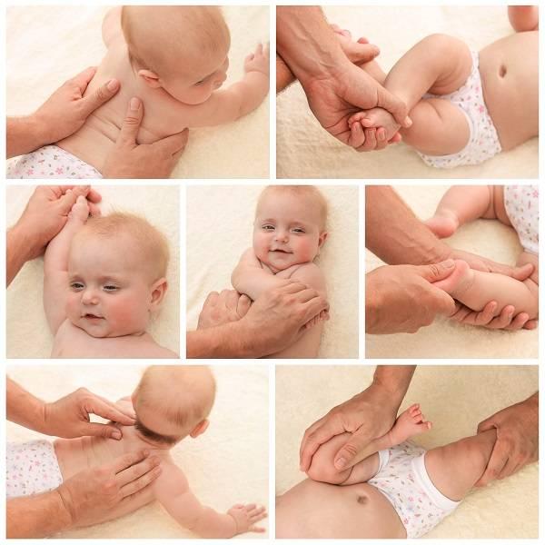 Как делать массаж новорожденному – видео и основные правила