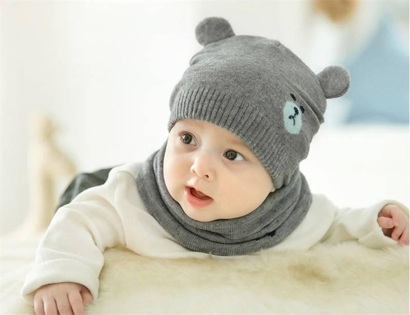 Какой размер шапочки для новорожденного: по месяцам до года, таблица