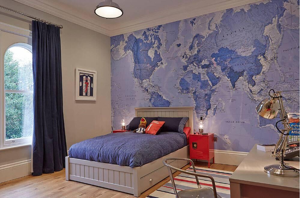 Дизайн комнаты для мальчика-подростка: идеи и фото интерьера - all4decor