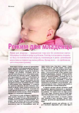 Режим дня новорожденного в первый месяц: примерный распорядок, нормы сна и бодрствования