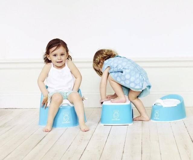 Как приучить ребенка к горшку? просто вовремя снимите подгузник