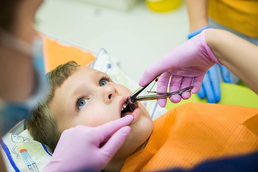 Последствия удаления молочных зубов