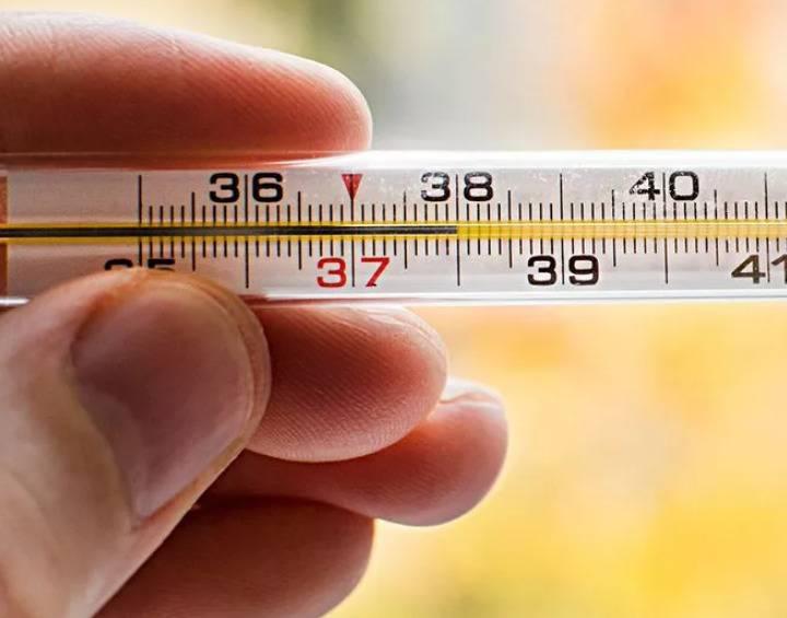 Температура 38°с