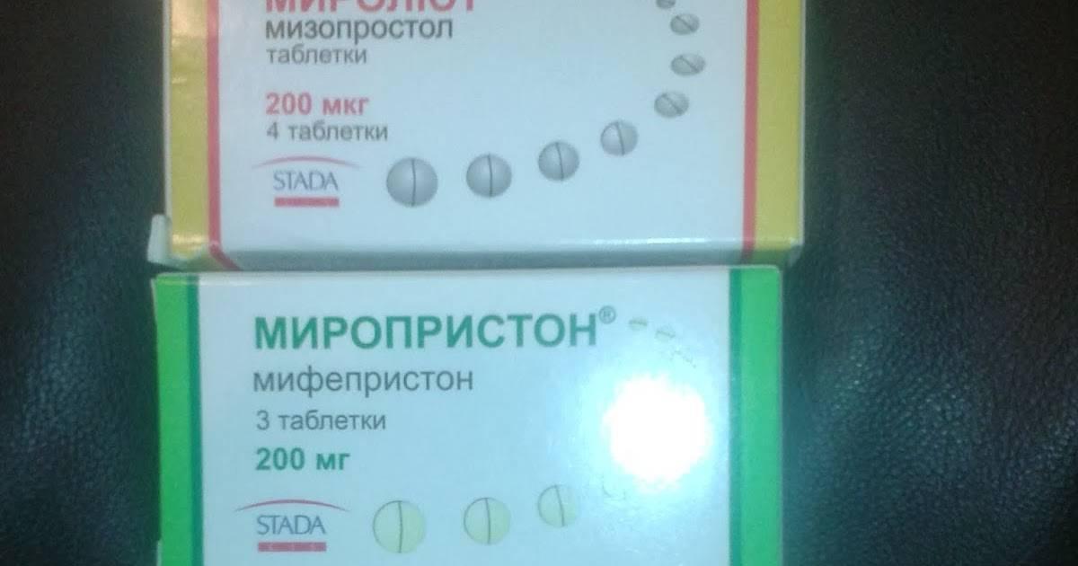 Медикаментозный аборт — все про таблетки для прерывания
